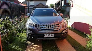 Hyundai Santa Fe 2.4 GLS 4x2 usado (2013) color Plata Titanium precio $13.300.000