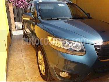 Hyundai Santa Fe 2.4 GLS 4x2 usado (2012) color Azul Acero precio $9.800.000
