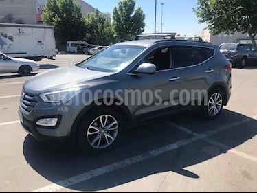 Hyundai Santa Fe 2.4 GLS 4x4 Full Aut usado (2013) color Gris precio $8.990.000