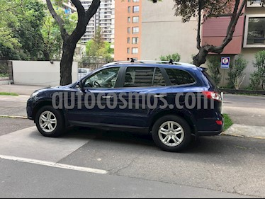 Hyundai Santa Fe 2.4 GLS 4x4 Full Aut usado (2011) color Azul precio $6.000.000