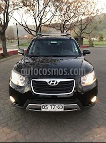 Hyundai Santa Fe 2.4 GLS 4x4 usado (2012) color Negro precio $8.700.000