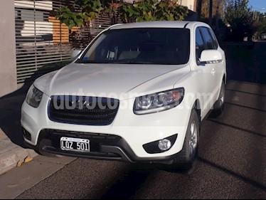 Foto venta Auto usado Hyundai Santa Fe 2.4 GLS 7 Pas Full 4x2 (2012) color Blanco precio $500.000
