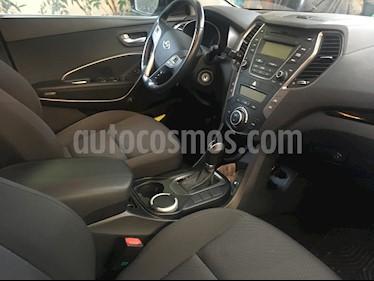 Hyundai Santa Fe 2.4L GLS 4x2 Aut usado (2015) color Plata precio $12.500.000