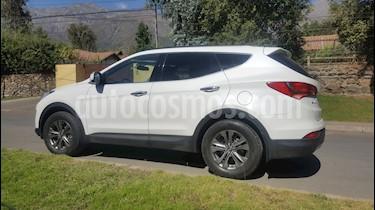 Hyundai Santa Fe 2.4L GLS 4x2 Aut usado (2014) color Blanco precio $11.090.000