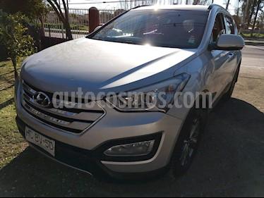 Hyundai Santa Fe 2.4L GLS 4x2 Aut usado (2015) color Plata precio $10.690.000