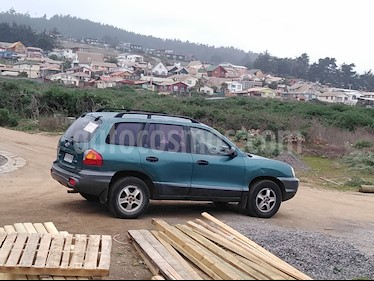 Foto venta Auto usado Hyundai Santa Fe 2.7 GLS 4x4 Aut Full (2001) color Verde precio $2.150.000