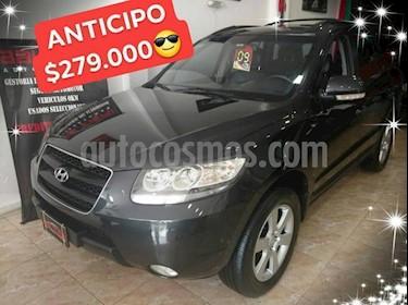 Foto venta Auto Usado Hyundai Santa Fe 2.7 GLS V6 7 Pas Full (2009) color Negro precio $279.000