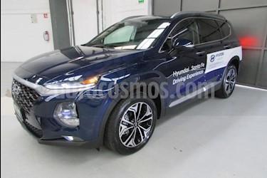 Foto venta Auto usado Hyundai Santa Fe 5p GLS L4/2.0/T Aut (2019) color Azul precio $660,400