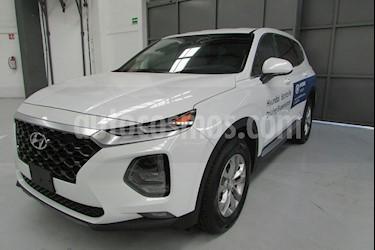 Foto venta Auto usado Hyundai Santa Fe 5p GLS L4/2.0/T Aut (2019) color Blanco precio $520,000