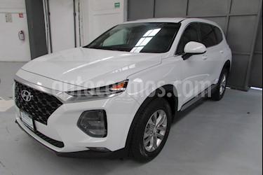 Foto venta Auto usado Hyundai Santa Fe 5p GLS L4/2.0/T Aut (2019) color Blanco precio $550,400