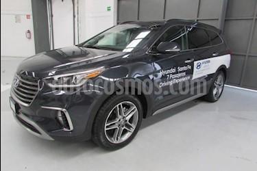 Foto venta Auto usado Hyundai Santa Fe 5p Limited Tech L4/2.0/T Aut (2019) color Azul precio $628,900