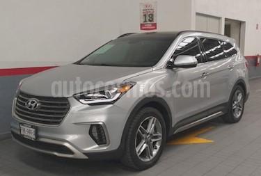 Foto venta Auto usado Hyundai Santa Fe 5p Limited Tech V6/3.3/T Aut (2018) color Plata precio $489,000