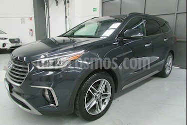 Foto venta Auto usado Hyundai Santa Fe 5p Limited Tech V6/3.3/T Aut (2018) color Azul precio $539,000