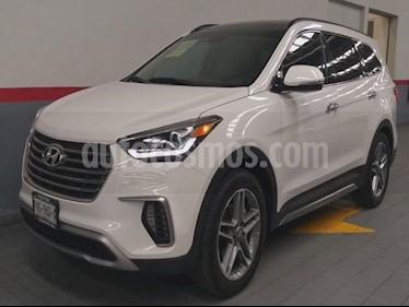 Foto venta Auto usado Hyundai Santa Fe 5p Limited Tech V6/3.3/T Aut (2018) color Blanco precio $509,000