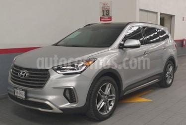 Foto venta Auto usado Hyundai Santa Fe 5p Limited Tech V6/3.3/T Aut (2018) color Plata precio $499,000