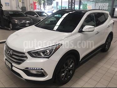 Foto venta Auto usado Hyundai Santa Fe 5p Sport L4/2.0/T Aut (2017) color Amarillo precio $450,000