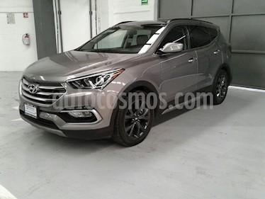 Foto venta Auto usado Hyundai Santa Fe 5p Sport L4/2.0/T Aut (2018) color Gris precio $490,000
