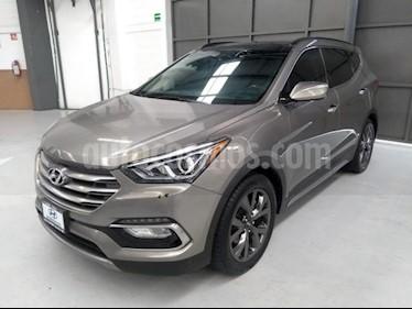 Foto venta Auto usado Hyundai Santa Fe 5p Sport L4/2.0/T Aut (2017) color Gris precio $405,000