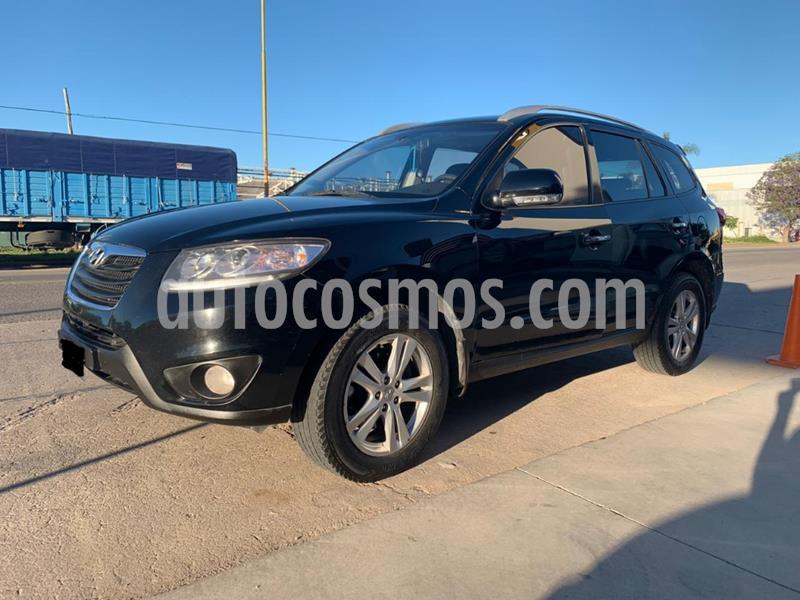 Hyundai Santa Fe 2.2 GLS CRDi 7 Pas Full Premium Aut usado (2011) color Negro precio $1.350.000