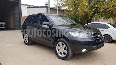 Hyundai Santa Fe 2.2 GLS CRDi 7 Pas Full Premium usado (2009) color Negro Ebony precio $690.000
