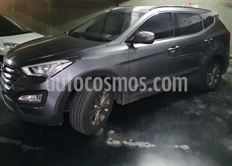 Hyundai Santa Fe 2.4 4x2 Full 7 Asientos usado (2013) color Plata Oscura precio $1.795.000