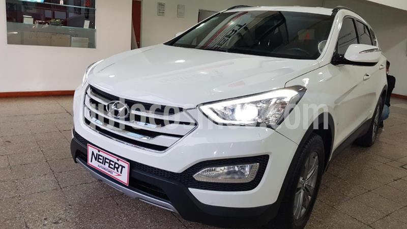 Hyundai Santa Fe 2.4 2WD DSL usado (2014) color Blanco precio $1.950.000