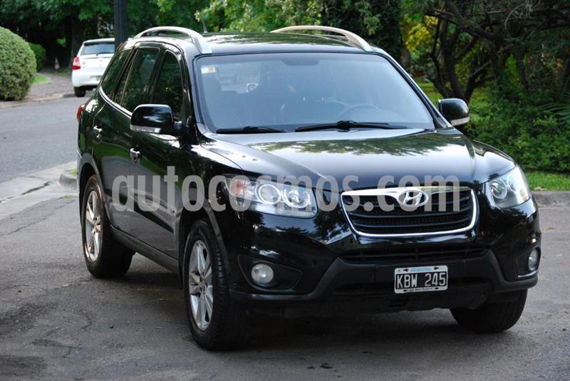 Hyundai Santa Fe 2.2 4x4 Die Full Premium  7 Asientos  usado (2011) color Negro precio $1.500.000