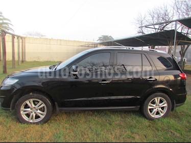 Hyundai Santa Fe 2.2 GLS CRDi 7 Pas Full Premium Aut usado (2010) color Negro Phantom precio $1.370.000