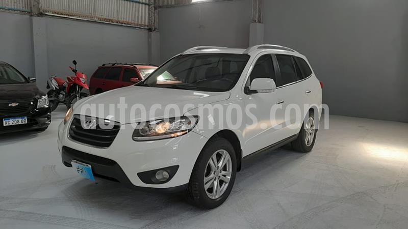 Hyundai Santa Fe 2.2 GLS CRDi 7 Pas Full Premium usado (2011) color Blanco precio $1.669.000