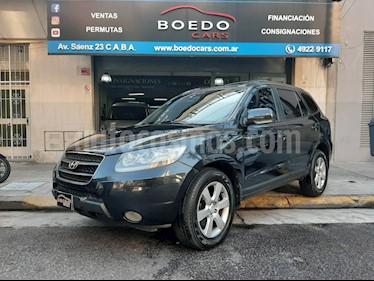 Hyundai Santa Fe 2.7 V6 GLS 7 Pas. MT Full (L06) usado (2009) color Negro precio $739.900