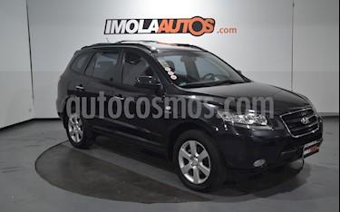 Hyundai Santa Fe 2.2 GLS CRDi 7 Pas Full Premium usado (2008) color Negro Ebony precio $990.000