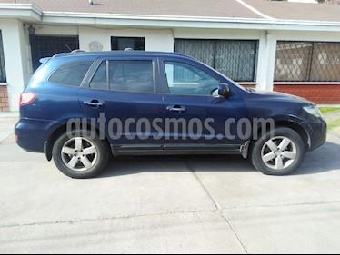 Hyundai Santa Fe 2.2 GLS CRDi 4x4 Aut Full usado (2007) color Azul precio $5.990.000