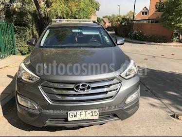 Hyundai Santa Fe 2.2L GLS CRDi 4x2 Aut usado (2015) color Gris precio $12.750.000
