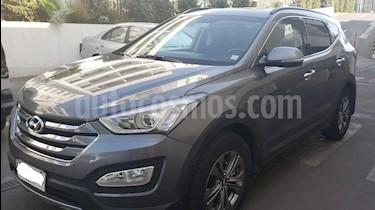 Hyundai Santa Fe 2.4 GLS 4x2 Full Aut usado (2016) color Gris precio $13.950.000