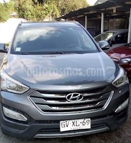 Hyundai Santa Fe 2.2 GLS CRDi 4x2 usado (2015) color Gris precio $13.200.000