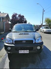 Hyundai Santa Fe NEW 2.2 Diesel 4WD Aut 6V usado (2002) color Gris precio $3.800.000