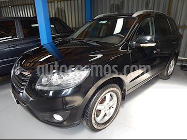 Hyundai Santa Fe 2.4 GLS 4x4 Aut usado (2011) color Negro precio $5.900.000