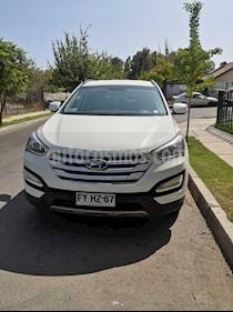 Hyundai Santa Fe 2.2 GLS CRDi 4x2 usado (2014) color Blanco precio $13.000.000