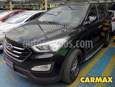 Hyundai Santa Fe 2.4 4x2 Aut usado (2014) color Negro precio $65.900.000
