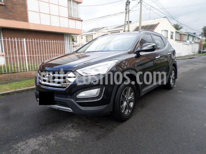 Hyundai Santa Fe 2.4 4x4 Aut usado (2013) color Negro precio $40.000.000