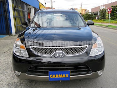 Hyundai Santa Fe 2.4 4x2 7 Pas. usado (2017) color Negro precio $94.900.000