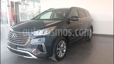 Hyundai Santa Fe 5p Premium L4/2.4 Aut usado (2018) color Azul precio $425,000