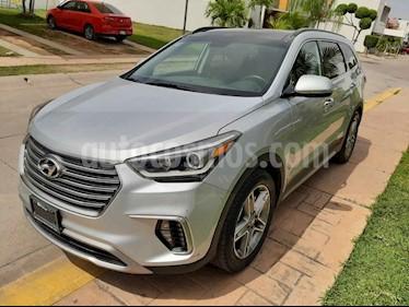 Hyundai Santa Fe V6 Limited Tech usado (2018) color Plata precio $465,000