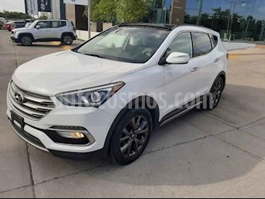 Hyundai Santa Fe 5p Sport L4/2.0/T Aut usado (2017) color Blanco precio $350,000