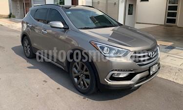 Hyundai Santa Fe Sport 2.0L usado (2018) color Gris Mineral precio $412,000