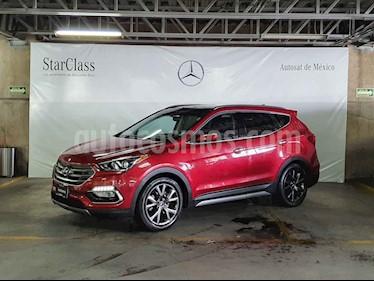 Hyundai Santa Fe 5p Sport L4/2.0/T Aut usado (2017) color Rojo precio $369,000