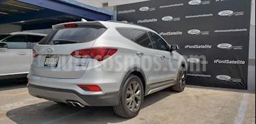 Hyundai Santa Fe Sport 2.0L Turbo usado (2018) color Plata precio $420,000