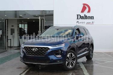 Hyundai Santa Fe 2.0L Turbo Limited Tech usado (2019) color Azul precio $630,000