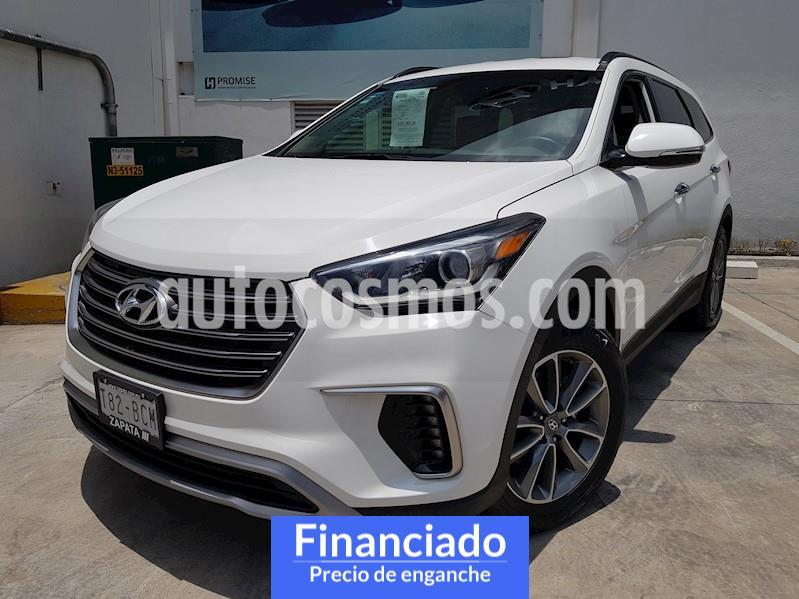 Hyundai Santa Fe 2.0L Turbo GLS usado (2019) color Blanco precio $123,975