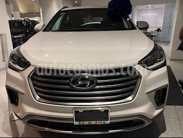 Hyundai Santa Fe 5p Premium L4/2.4 Aut usado (2018) color Blanco precio $510,507
